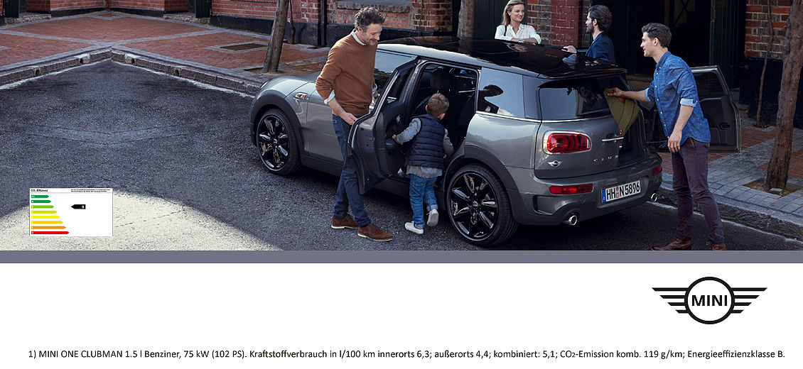 Der MINI One Clubman